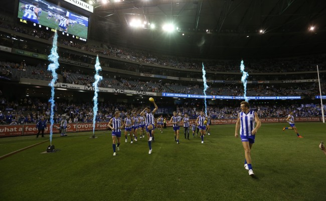 AFL 2014 Rd 01 – North Melbourne v Essendon